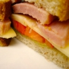 Sandwich - close up